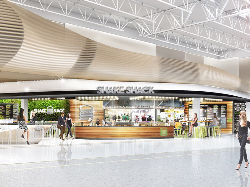 A number of operators for whom we did pre-lease proposals, are now tenants, including Shake Shack.