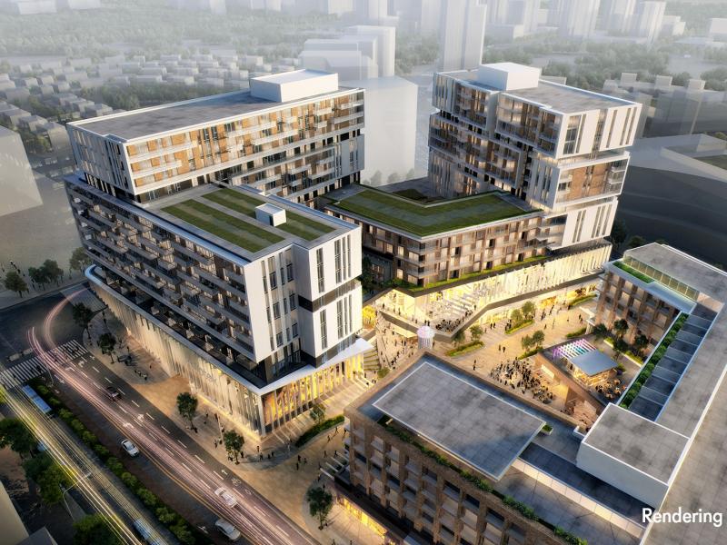Markham constitue le plus important projet immobilier à usage mixte au Canada, et le plus grand lotissement certifié LEED en Amérique du Nord.