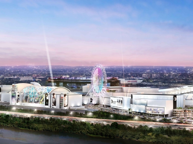 Exclusive tour of the American Dream mega-mall
