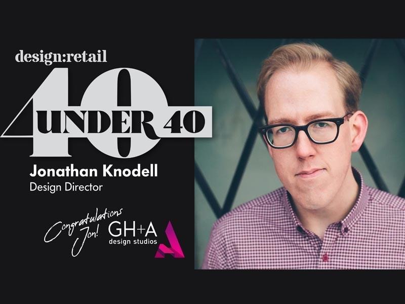 Jonathan Knodel design:retail 40meilleursfuturs leaders de l'industrie du design de moins de40ans