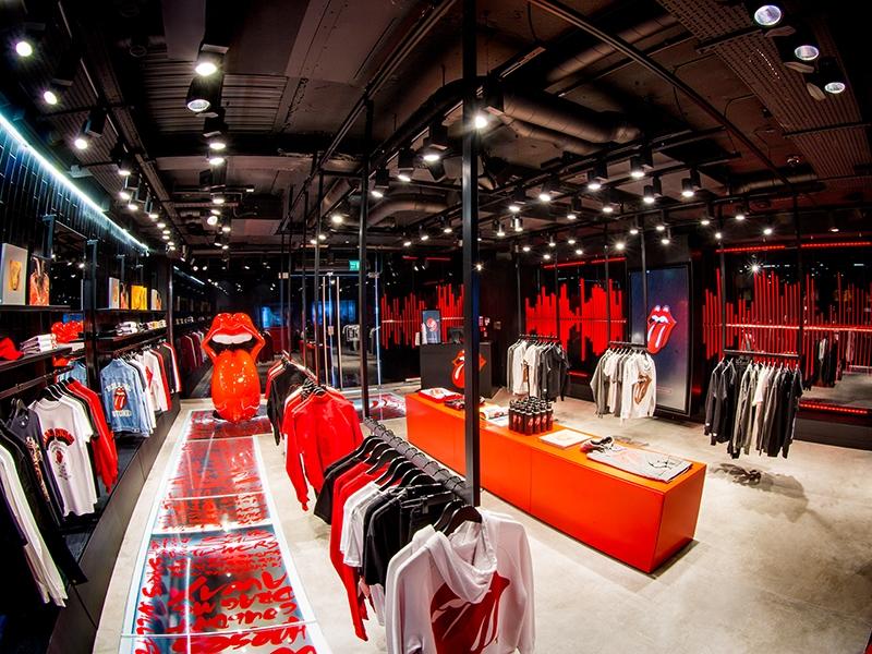 Le magasin des Rolling Stones RS No.9 est ouvert sur Carnaby Street